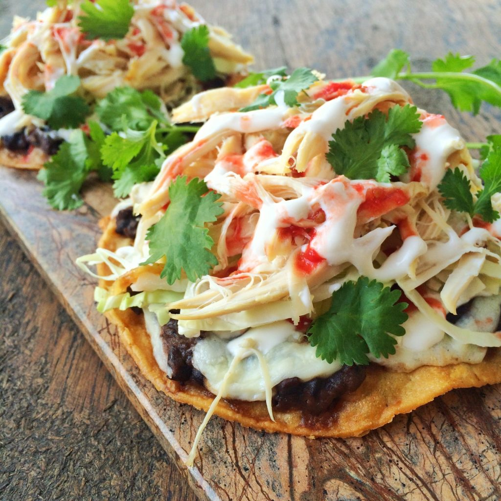 Chicken Tostada Recipe