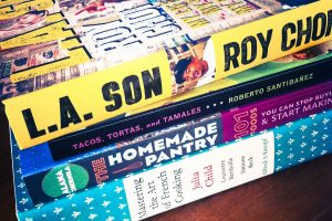 Cookbooks - Roy Choi, Julia Childs