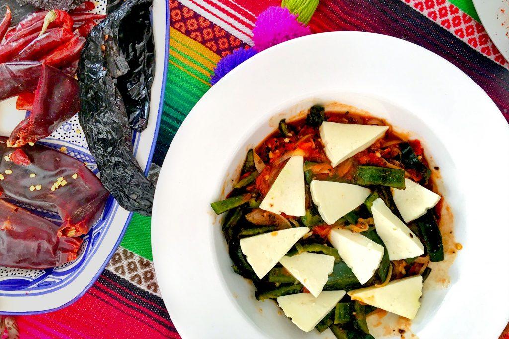 Salsa Ranchera with Queso Panela