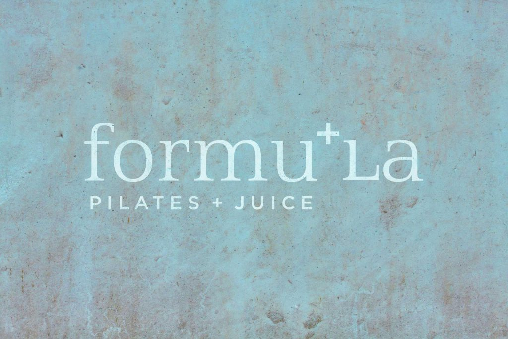 FormuLA Pilates + Juice Logo Design