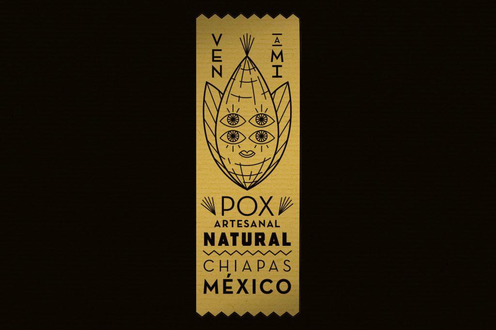 Ven A Mi Pox Artesanal Chiapas Mexico Logo