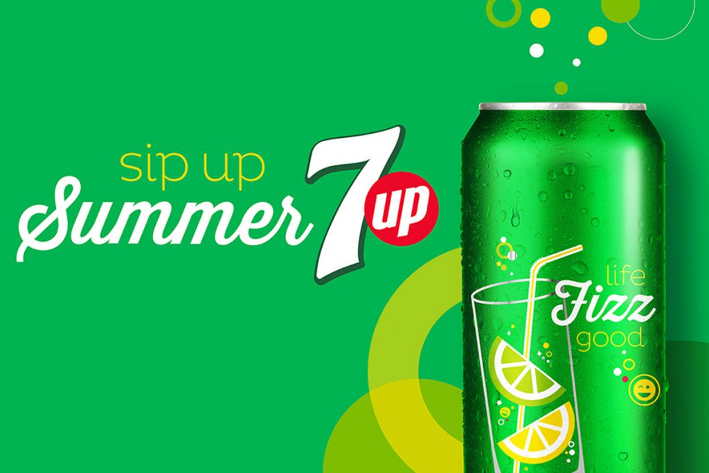 7up Sip Up Summer Campaign