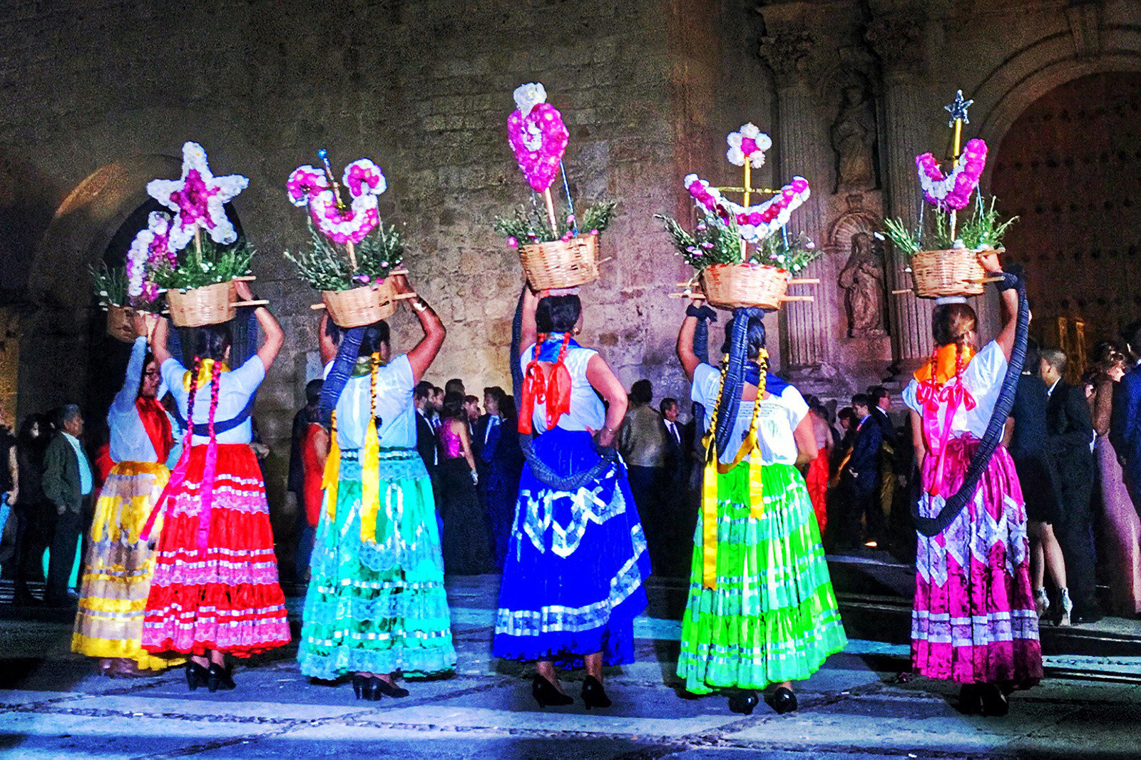Traditional Wedding Celebration in Oaxaca, Mexico