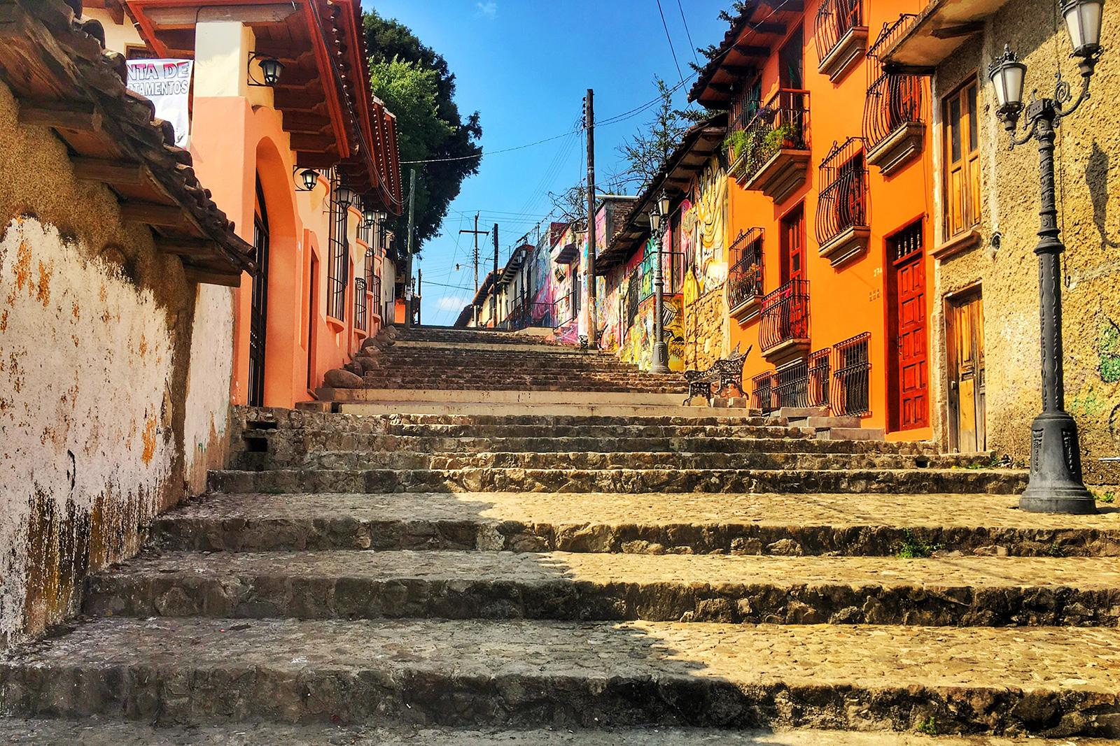 Staircase of San Cristóbal de las Casas, Chiapas