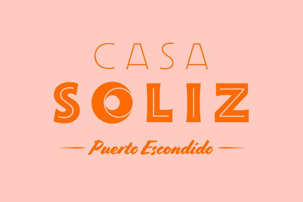 Casa Soliz Logo, Puerto Escondido, Oaxaca, Mexico