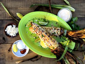 Grilled Mexican-Style Corn-on-the-Cob