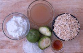 Overnight Oat Recipe White Sapote