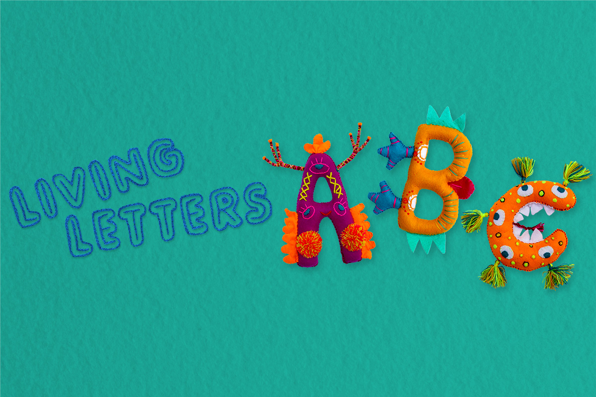 Living Letters ABC Alphabet Book