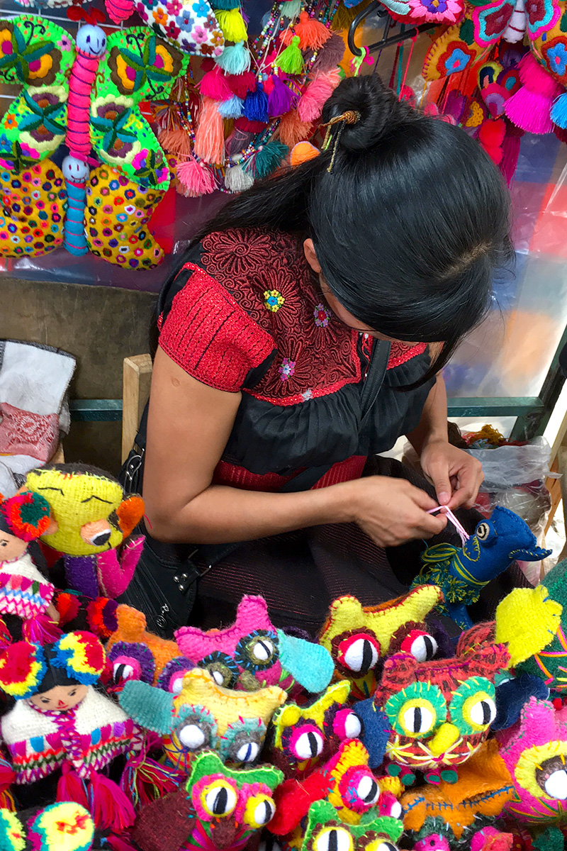Artisan in Chiapas, Mexico