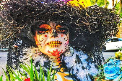 La Catrina - Skull make-up for Day of the Dead